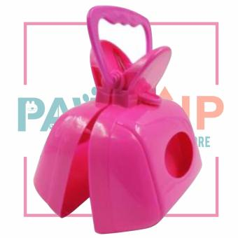 Paws Up Dog Waste Poop Scooper Pet excrement poop holder(Pink) Price Philippines