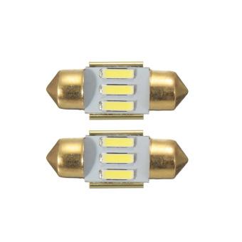 31MM 7020 3SMD Festoon Reverse Interior LED Light Reading Lamp Decoding White