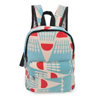 Harga Happy Kids CRL-03 Kids School Bag Backpack (Caramel/Torquoise)