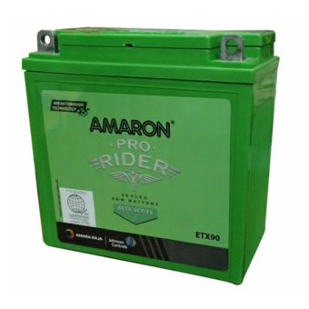 Harga AMARON Pro Bike Rider AP-ETX90 (YB9-B) Motorcycle Battery Maintenance Free