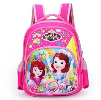 New Kids Backpack Sofia Princess for Girls School Bags Cartoon Schoolbag - intl Price Philippines