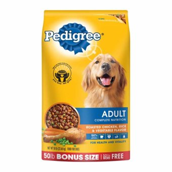 Pedigree Adult Dog Food 55 LBS Bonus Pack