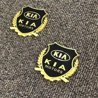 2pcs Golden Emblem Badge for Kia Cars Price Philippines