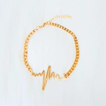 Harga Valentino Collection Bracelet heartbeat