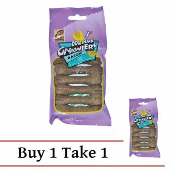 Buy 2 Packs of Bacon Gnawlers Dog 6 pcs Snack Treats - Bacon Price Philippines