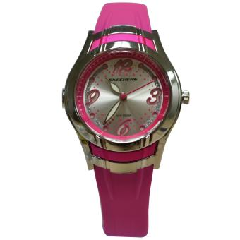 Harga Skechers Quicksilver 2 Pink Polyurethane Strap Watch 71044