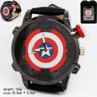 Harga Kisnow America Fashion Movies Watches(Color:Captain) - intl