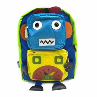 Happy Kids Unisex Kids Schoolbag Backpack Outdoor Bag Jack Flybot Design Price Philippines