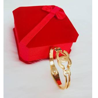 Harga Valentino Collection Chanel inspired Bangle
