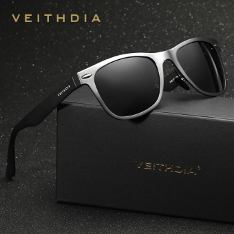 VEITHDIA Aluminum Men's Polarized Mirror Sun Glasses Male Driving Fishing Outdoor Eyewears Accessories Sunglasses For Men 2140(Black) - intl Price Philippines