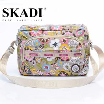Harga Skadi Korea Ladies Shoulder Bag 888 (Flower and Herb)