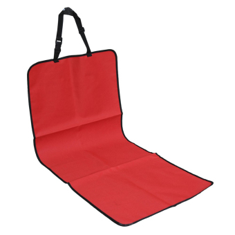 Water-proof Pet Car Seat Cover Dog Cat Puppy Seat Mat Blanket Red - Intl - Intl Price Philippines