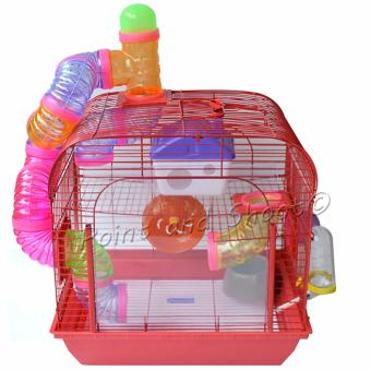 Harga Deluxe Hamster Mice Mouse Small Animal Cage