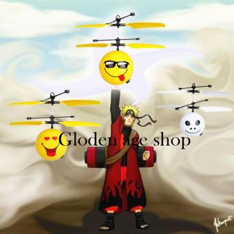 Upgrade Package Induction Flying Toy Despicable Me Minion Remote Control RC Helicopter Quadcopter Drone Kid Toy