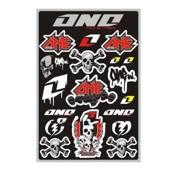 Sec 00614 One Industries Motorcycle Sticker Kit Sheet Price Philippines