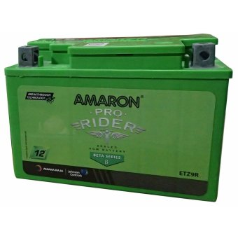Harga AMARON Pro Bike Rider AP-ETZ9R (MF9-B) Motorcycle Battery Maintenance Free