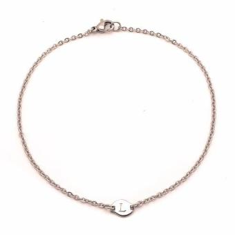 Steel Tiny Anklet L (silver) Price Philippines