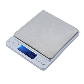 High Accuracy Mini Electronic Digital Platform Jewelry Scale Weighing Balance with Two Trays Portable 300g/0.01g Counting Function Blue LCD g/ct/dwt/ozt/oz/gn Price Philippines
