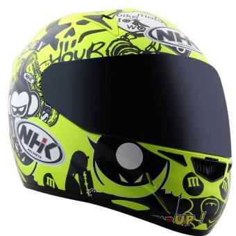 Harga NHK Helmet GP Tech Bomb Flourescent (Yellow)