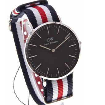 DW Daniel Wellington Classic Black Canterbury Silver Men's Watch 40mm Price Philippines