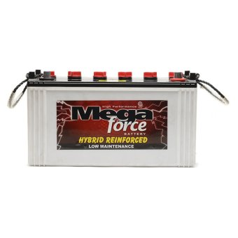 Harga Mega Force 6SMF N100L 100E41L (100AMPS) Low Maintenance Automotive Battery