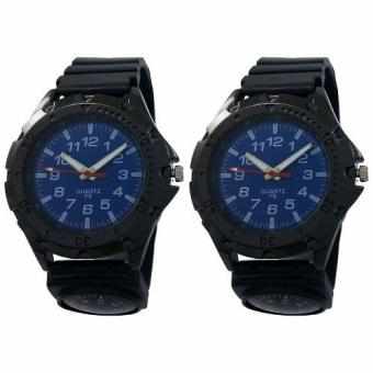Navigator Men's Sports Watch With Compass SET OF 2 (Blue) Price Philippines