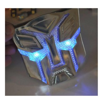 Solar LED Flash Light Transformers 3D Autobot Car Emblem Badge Decal Sticker Price Philippines