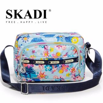 Harga Skadi Korea Ladies Shoulder Bag 888 (Blue Mermaid)