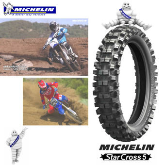 Michelin OFFROAD Motorcycle Tire 110/100 R18 Starcross 5 medium