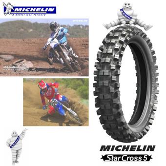 Michelin OFFROAD Motorcycle Tire 110/100 R18 Starcross 5 medium