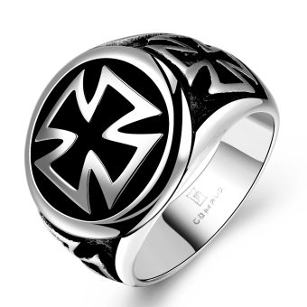 Cyber Mens Cross Punk Ring Size 11 Price Philippines
