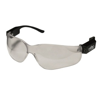 Power On Demand Rechargeable LED Safety Glasses (Black) Price Philippines