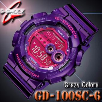 Casio G-Shock GD-100SC-6D (Purple) Price Philippines
