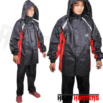 Harga X-TEAM High Quality Pair of Rain Coat with Reflectorize
