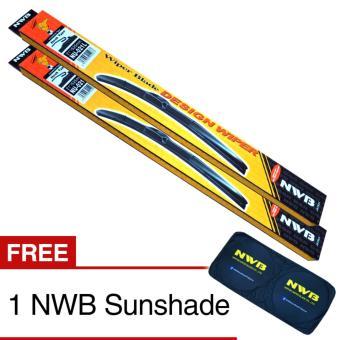 NWB DESIGN Wiper Blade for Nissan Navara 2007-2014 - (SET)