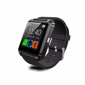 Harga U8S Smart Bluetooth 3.0 Watch Outdoor Sports Smartwatch - BLACK