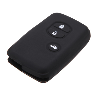 Remote Fob Shell Key Holder Case Cover for Toyota Land Cruiser Prado(2010) 3 Buttons Price Philippines