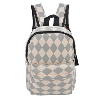 Harga Happy Kids CRL-03 Kids School Bag Backpack (Caramel/Grey)