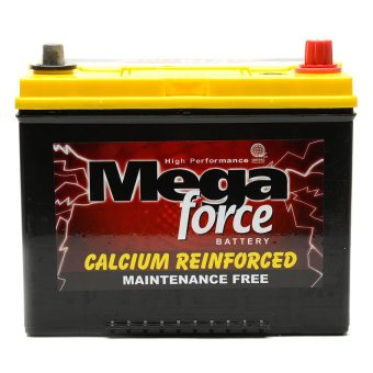 Harga Mega Force 2SMF NS70L 65D26L (65AMPS) Maintenace Free Automotive Battery