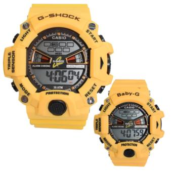 Casio Couple Sports Triple Sensor Watch (Yellow) Price Philippines