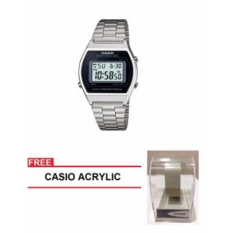 Casio Collection Series Women Silver Stainless Steel StrapWatch B640WD-1AVDF (FREE CASIO ACRYLIC) Price Philippines