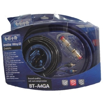 Beta BT-A4GA Amplifier Wiring Kit (Black) Price Philippines