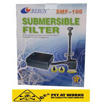 Harga Resun Submersible Filter SMF-100 Pre Filter (200 to 2000 Liters) For Pond Pump or Fountain Pump