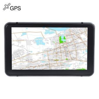 706 7 inch Truck Car GPS Navigation Navigator with Free Maps Win CE 6.0 / Touch Screen / E-book / Video / Audio / Game Player - intl Price Philippines