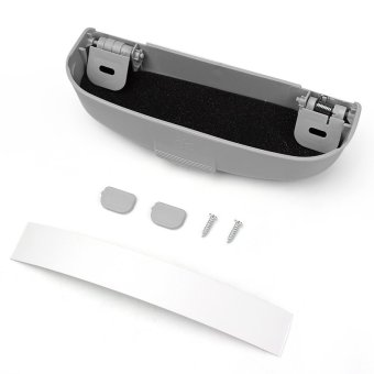 Car Glasses Case Automotive Holder Box Tidying For Mitsubishi Pajero V73 Galant Lioncel ASX RVR(Gray) Price Philippines