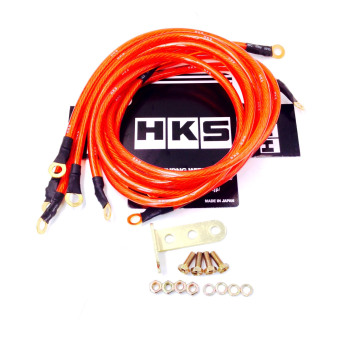 Harga HKS Universal Grounding Kit (Red)