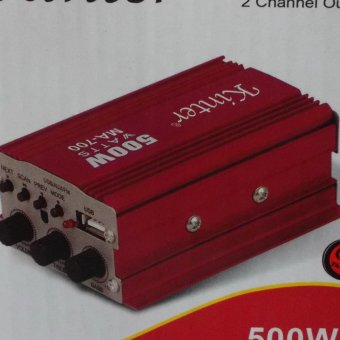 KINTER CAR AMPLIFIER 2 Channel OUTPUT MA-700 Price Philippines