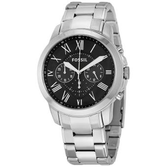 Fossil Grant Chronograph Black Dial Stainless Steel Men's Watch FS4736 Price Philippines