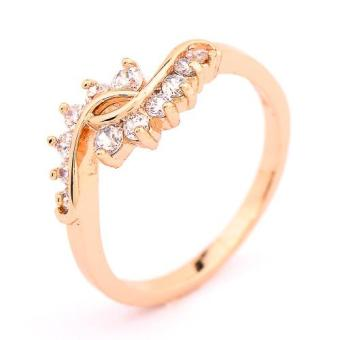 Athena & Co. 22k Gold Plated Rose Ring Price Philippines