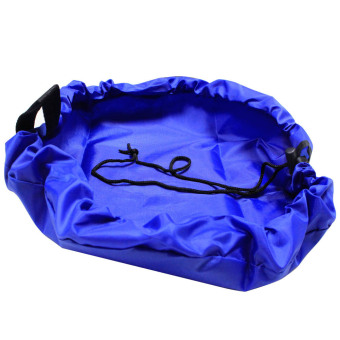 Fang Fang Portable Mini Round Storage Bag For Children Lot of Toys Organizer (Blue) Price Philippines